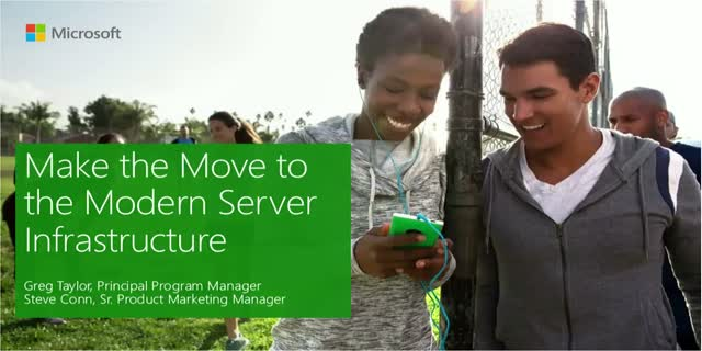 Make the Move to the Modern Server Infrastructure
