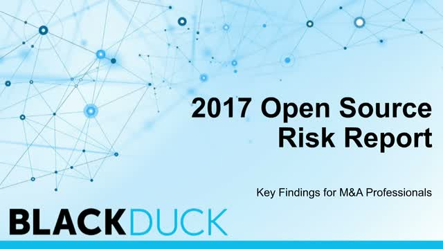 Assessing Open Source Risk: An Imperative for M&A Professionals