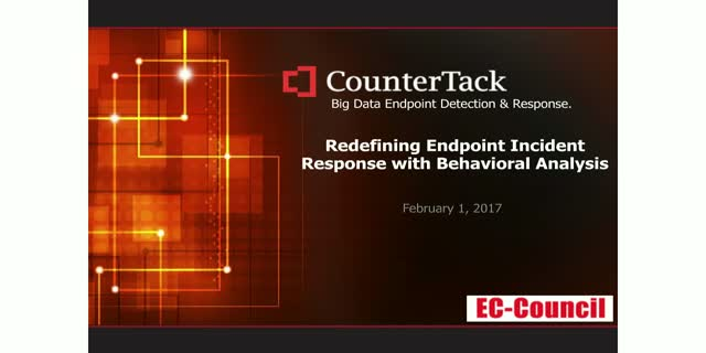 Redefining Endpoint Incident Response with Behavioral Analysis