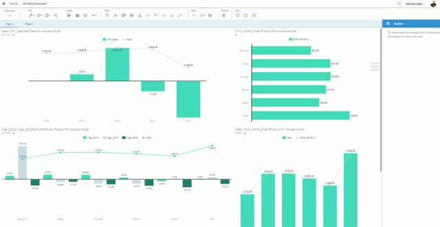 SAP BusinessObjects Cloud - work with the formula editor