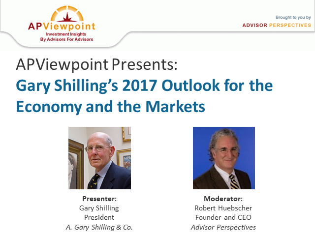 Gary Shilling's 2017 Outlook for the Economy and the Markets