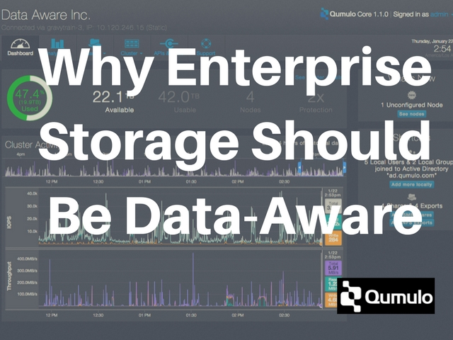 Why Enterprise Storage Should Be Data-Aware