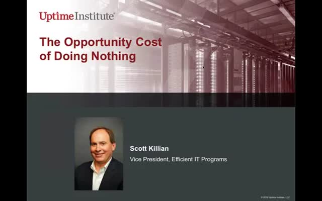 The opportunity cost of doing nothing