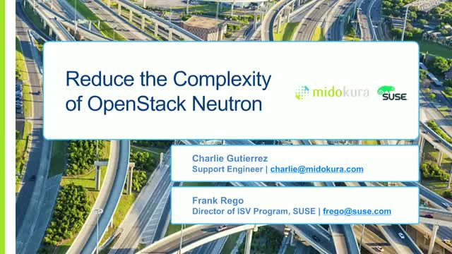 Reduce the Complexity of OpenStack Neutron