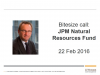 Bitesize 30-minute update: JPM Natural Resources Fund