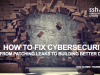 How to Fix Cybersecurity - From Patching Leaks to Building Better Dams