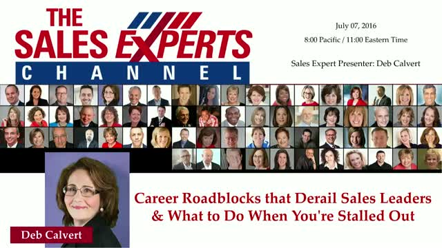 Career Roadblocks that Derail Sales Leaders & What to Do When You're Stalled Out