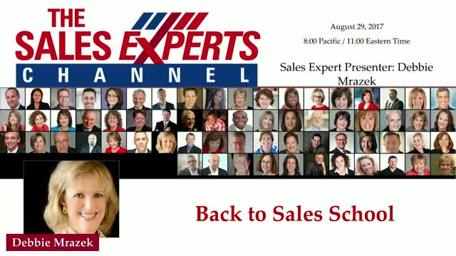 Back to Sales School