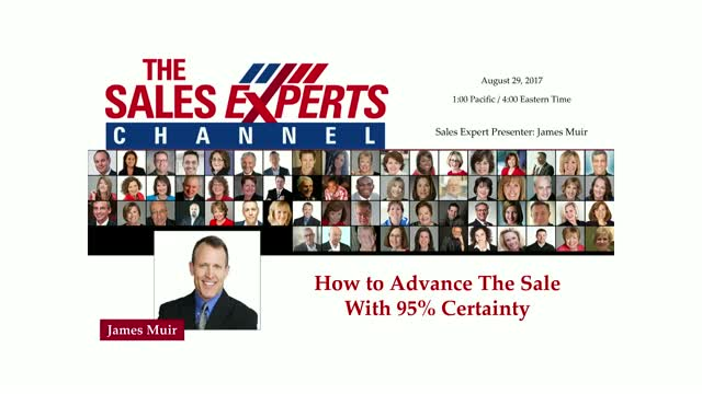 How to Advance The Sale With 95% Certainty