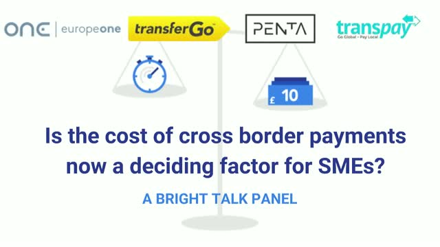 Is the cost of cross border payments now a deciding factor for SMEs?