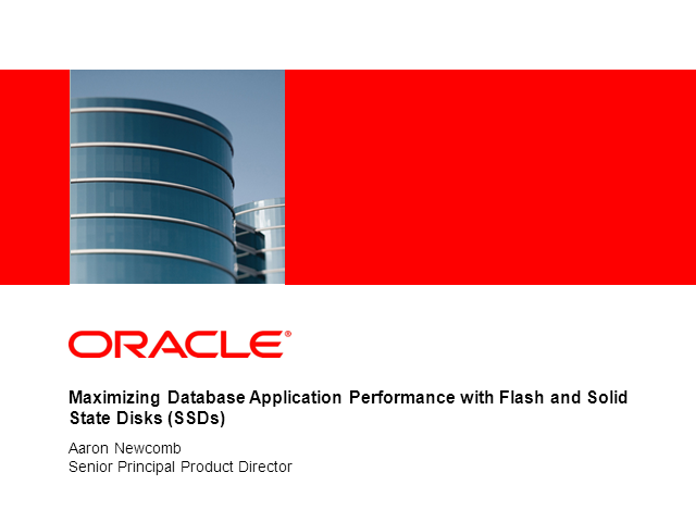 High-Performance Storage for Demanding Database Applications