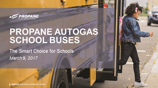 Propane Buses: The Smart Choice for Schools