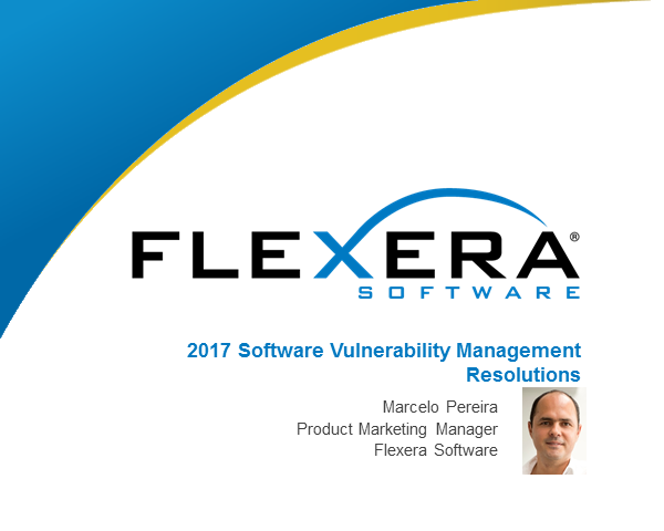 2017 Software Vulnerability Management Resolutions
