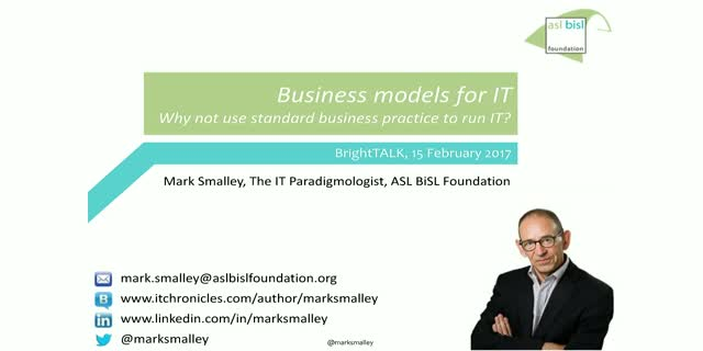 Business Models for IT
