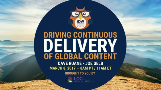 Driving Continuous Delivery of Global Content
