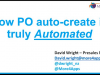 Now Purchase Order auto-create is truly automated