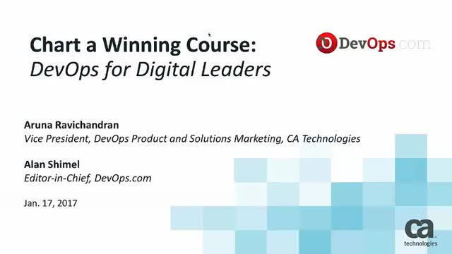 Chart a Winning Course: DevOps for Digital Leaders