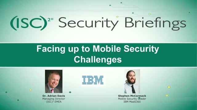 Facing up to Mobile Security Challenges