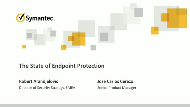 State of Endpoint Protection & How Machine Learning Helps Stop The Attacks