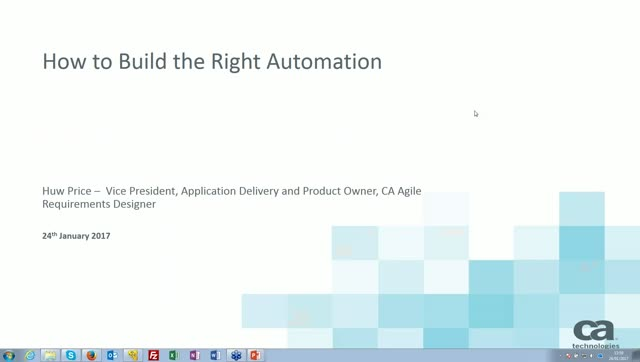 How to Build the Right Automation