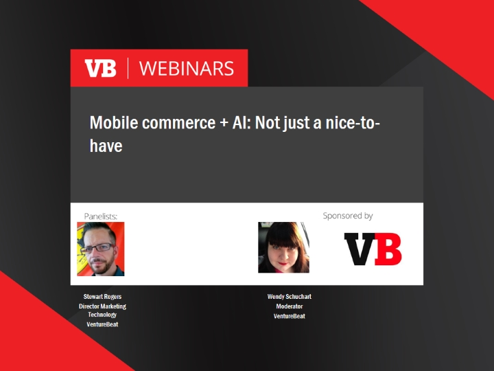 Mobile commerce + AI: Not just a nice-to-have