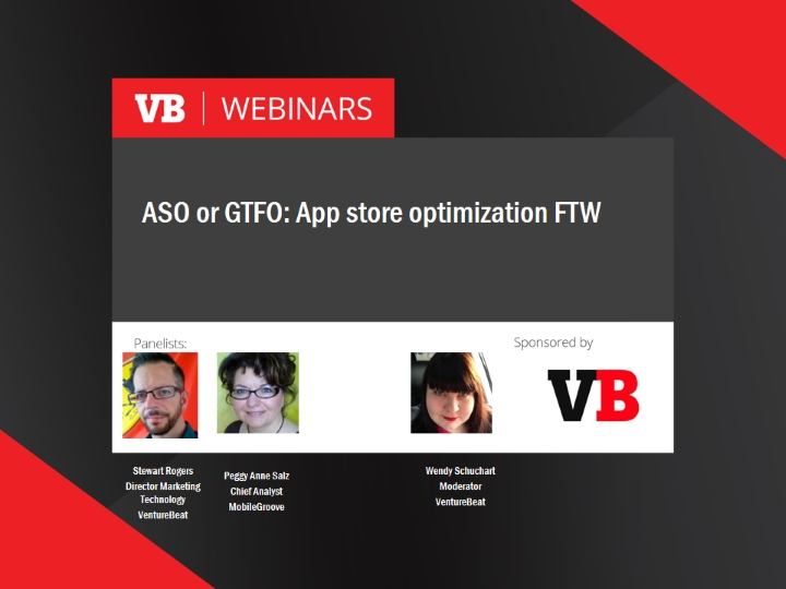 ASO or GTFO: App store optimization FTW