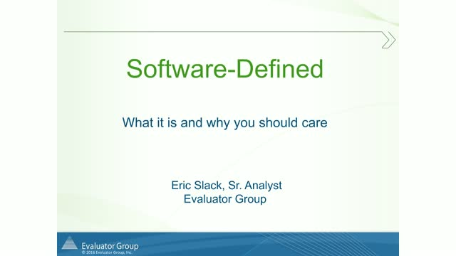 """What is """"Software-Defined"""" & Why Should You Care? (It's More than Just SDS)"""