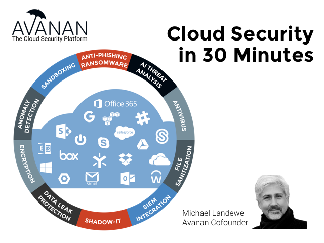 Cloud Security in 30 Minutes