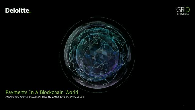 Payments in a Blockchain World