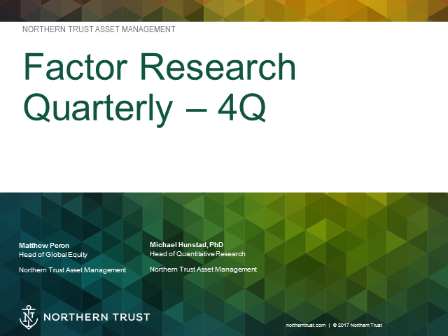 4Q Factor Research Quarterly