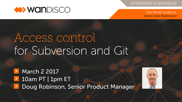 Access control for Subversion and Git