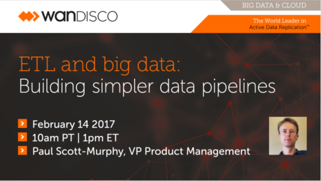 ETL and big data: Building simpler data pipelines