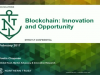 Blockchain: Innovation and Opportunity