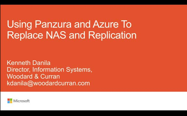 NetApp and SnapMirror replaced by Azure and Panzura at Woodard & Curran