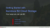 Getting started with B2 Cloud Storage
