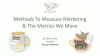 Methods To Measure Marketing And The Metrics We Move