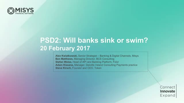 PSD2: Will banks sink or swim?