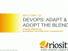 DevOps: Adopt and Adapt the Blend