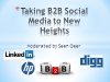 Panel Session: Taking B2B Social Media to New Heights