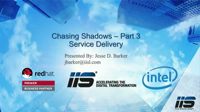Chasing Shadows: Part 3 – How to Accelerate Service Delivery in the Age of Cloud