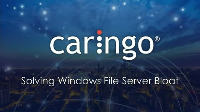 Solving Issues with Microsoft Windows File Server Bloat