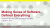Making Sense of Software-Defined Everything