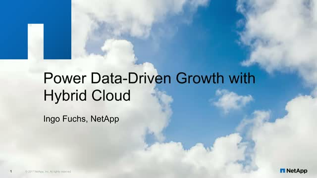Power Data-Driven Growth With Hybrid Cloud