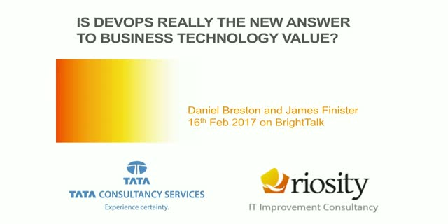Is DevOps REALLY the new answer to business technology value?