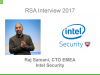 [Video Interview] RSA 2017 - Raj Samani, Intel Security