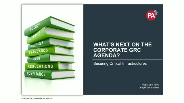 What's Next on the Corporate GRC Agenda?