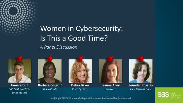 Women in Cybersecurity: Is This a Good Time?
