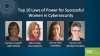 Top 10 Laws of Power for Successful Women in Cybersecurity