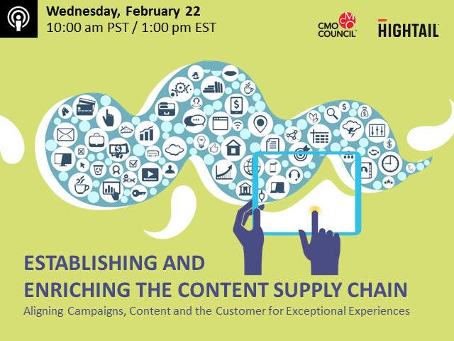 Establishing and Enriching the Content Supply Chain