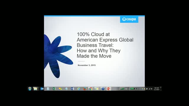 100% Cloud at American Express Global Business Travel